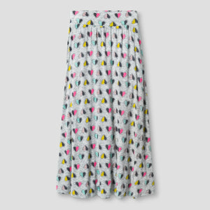 Girls Maxi Heart Skirt