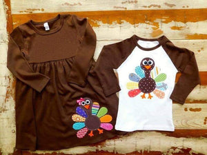 Boy's Turkey Time Raglan