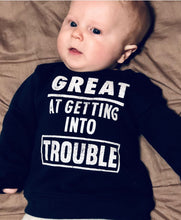 Infant Boy's Navy Sweatshirt
