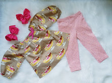 Infant Girl's 2PC Banana Split Legging Set