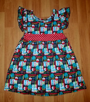 Girl's Schoolhouse Twirl Dress