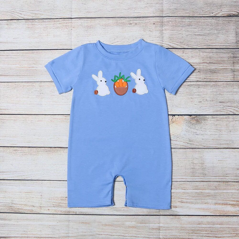 Infant Boy's Peter Cottontail Romper