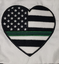 Girl's Thin Green Line Dress