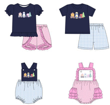 Girl's By the Campfire 2PC Short Set