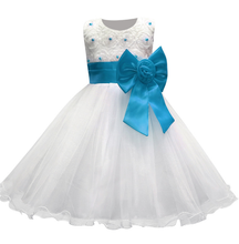 Girl's Party Dress - Ella (Blue)