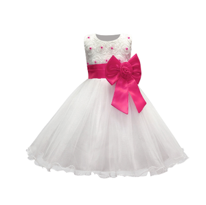 Girl's Party Dress - Ella (Hot Pink)