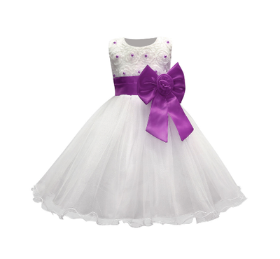 Girl's Party Dress - Ella (Purple)