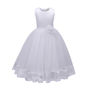 Girl's Formal Dress - Grace (White)