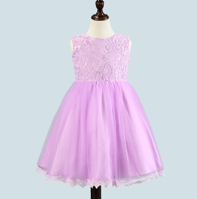 Girl's Party Dress - Olivia (Purple)