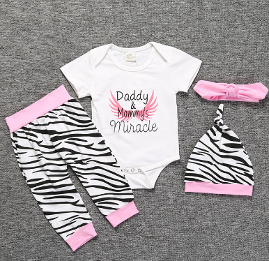 Girl's Daddy & Mommy's Miracle set