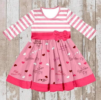 Girl's Valentine's Day Twirl Dress