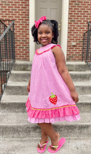 Girl's Strawberry Patch Dress
