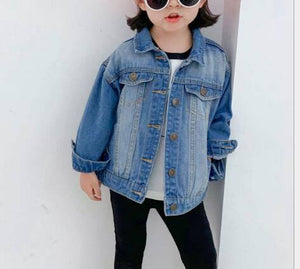 Girl's Fashion Denim Jacket