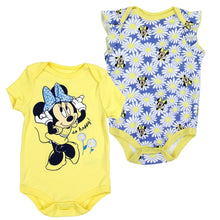 "Infant Girl's 2-Pack ""So Happy"" Minnie Mouse Romper Set"