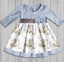 Girl's Flowers & Teepees Dress