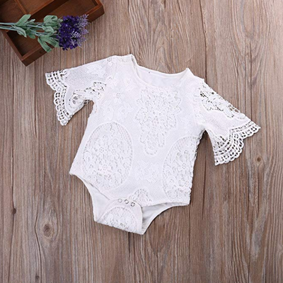 Infant Girl's Lace Romper