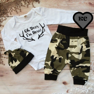 Infant Boy's 3PC Pant Set