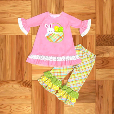Bunny in A Basket 2PC Tunic Set