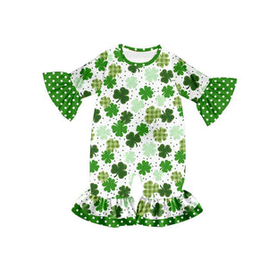 Infant's Shamrock Romper