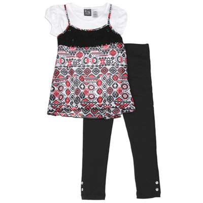 Girl's 3PC Legging Set