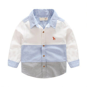 Boy's Long Sleeve Dress Shirt