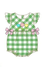 Infant Girl's Flowers in Springtime Romper
