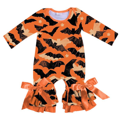 Infant's Halloween Romper - Gone Batty!