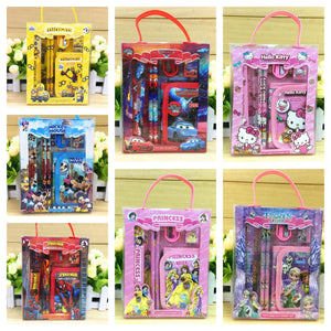 Kids Character Pencil & Wallet Kits