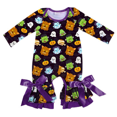 Infant's Halloween Romper - Frankenstein