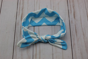 Chevron Fabric Knot Headband