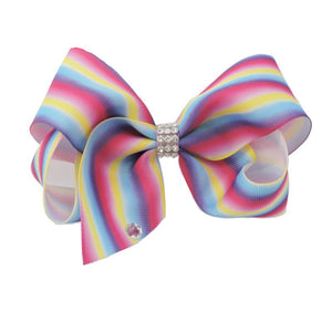 Girl's Trendy Multi Colored Bow