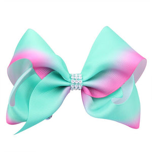 Classic Over-sized Grosgrain Hair Bow - Alligator Clip