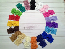 "Girl's 3"" Lace Bow Headband"