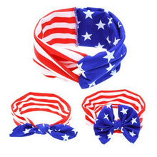 Stars & Stripes Patriotic Headband