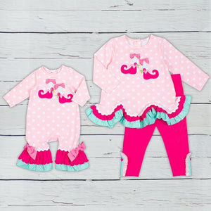 Santa's Elves 2PC Tunic Set