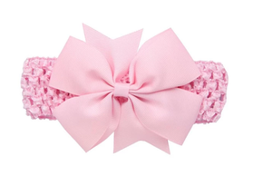 Girl's - Knitted Headband - Pink