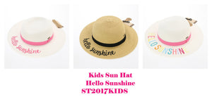 CC Beanie Kids Hello Sunshine Sun Hat