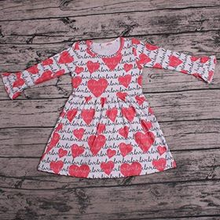 Girl's Love & Hearts Twirl Dress