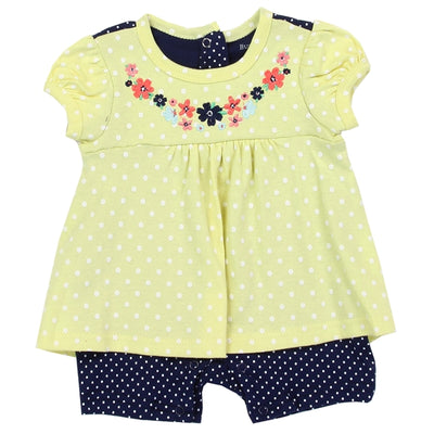 BUSTER BROWN Girls Infant  Romper