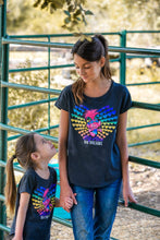Girls Heart Troll Tee Shirt