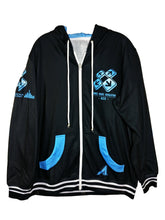 Load image into Gallery viewer, DDR ACE DARK ZIPPER HOODIE