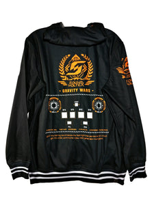 SDVX 3 GRAVITY WARS DARK ZIPPER HOODIE