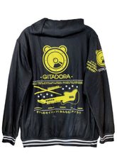 Load image into Gallery viewer, GITADORA YELLOW DARK ZIPPER HOODIE