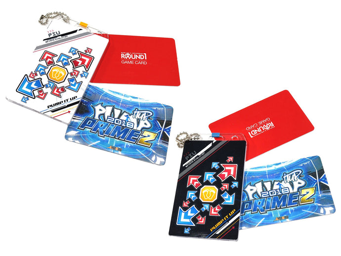 PIU ARROWS LIGHT DARK CARD HOLDER