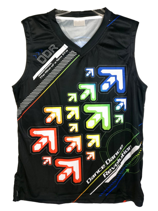 DDR NOTE ARROWS DARK TANKTOP