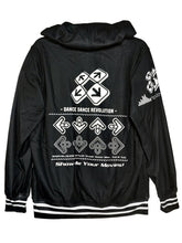 Load image into Gallery viewer, DDR DARK ZIPPER HOODIE