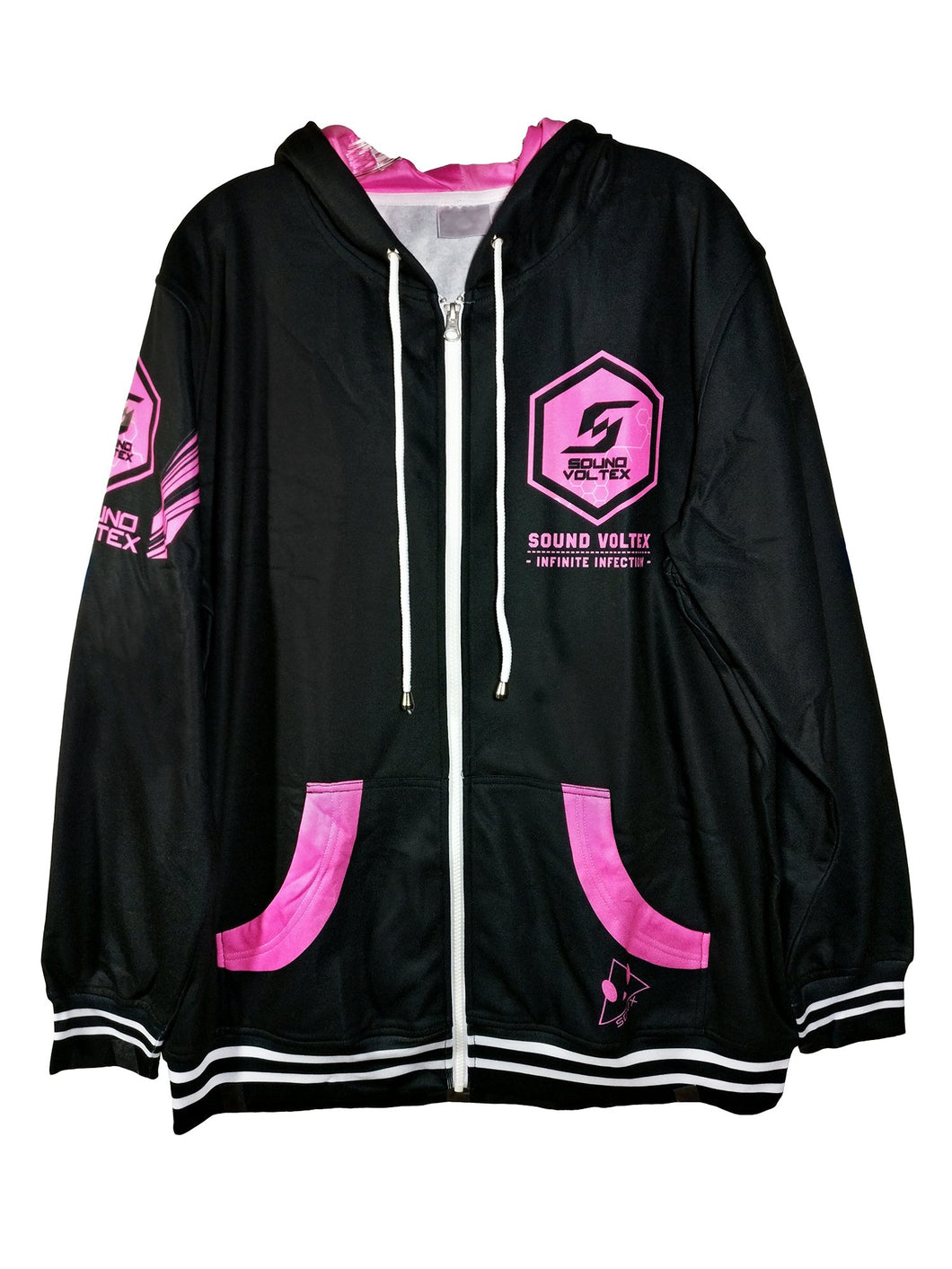 SDVX 2 INFINITE INFECTION DARK ZIPPER HOODIE