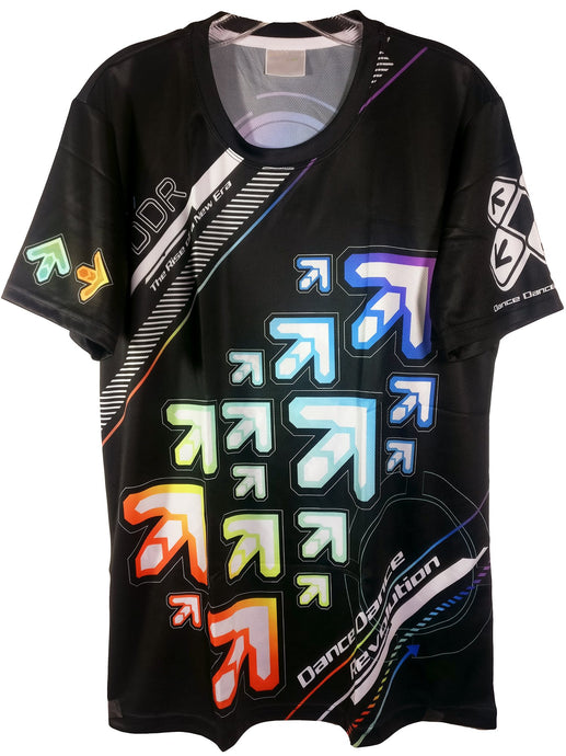 DDR VIVID ARROWS DARK SHIRT
