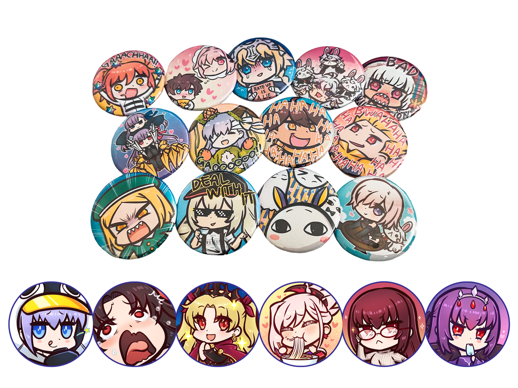 FATE/GRAND ORDER BUTTONS
