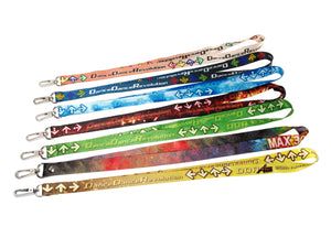 DDR BEMANI LANYARDS